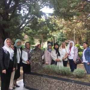 Başbuğ Alparslan Türkeş Bey'in Anıt Mezarını Ziyaret Ettik