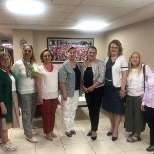 KAMUSEN Kadın Komisyonları Gn. Bşk. Sn. Leyla POLAT'ı Ziyaretimiz